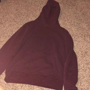 burgundy Gap hoodie